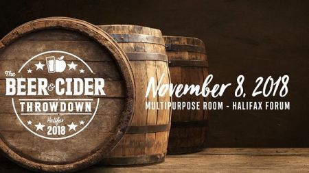 The Beer & Cider Throwdown at Halifax Forum Multi-Purpose Centre Thu Nov 8 2018 at 7:00 pm