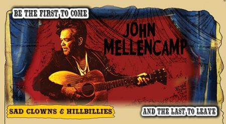 evenko present An evening with : JOHN MELLENCAMP at Halifax Forum Sat Sep 29 2018 at 7:30 pm