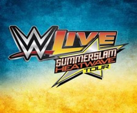 WWE Live: Summerslam Heatwave Tour at Halifax Forum Fri Aug 4 2017 at 7:30 pm